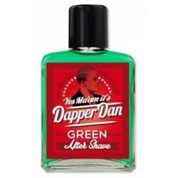 Dapper Dan Vodica po britju GREEN 100 ml